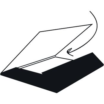 Mappe mit Füllhöhe